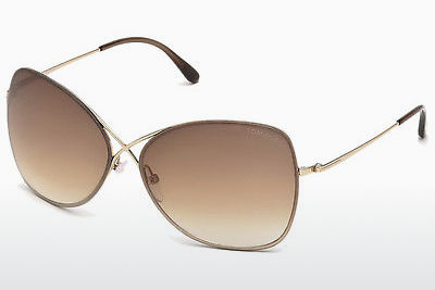 Ophthalmic Glasses Tom Ford Colette (FT0250 28F) - Gold