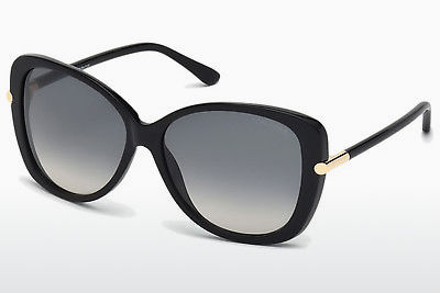 Zonnebril Tom Ford Linda (FT0324 01B) - Zwart, Shiny