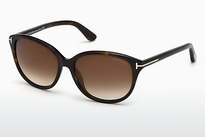 Zonnebril Tom Ford Karmen (FT0329 52F) - Bruin, Dark, Havana