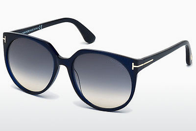Zonnebril Tom Ford Agatha (FT0370 89W) - Blauw, Turquoise