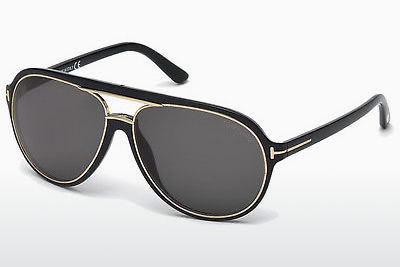 Zonnebril Tom Ford Sergio (FT0379 01A) - Zwart