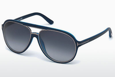 Zonnebril Tom Ford Sergio (FT0379 89W) - Blauw, Turquoise