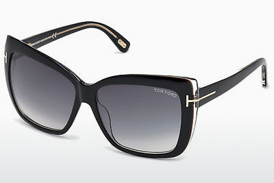 Ophthalmic Glasses Tom Ford Irina (FT0390 01B) - Black, Shiny