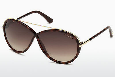 Zonnebril Tom Ford Tamara (FT0454 52K) - Bruin, Havanna