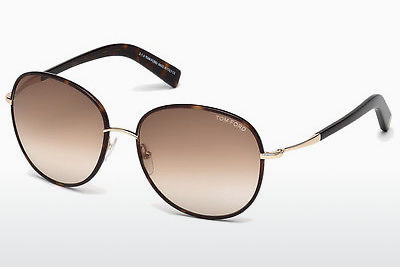 Zonnebril Tom Ford Georgia (FT0498 52F) - Bruin, Dark, Havana