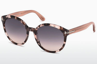 Ophthalmic Glasses Tom Ford Philippa (FT0503 56B) - Havanna