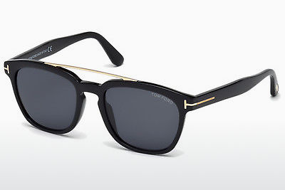 Zonnebril Tom Ford Holt (FT0516 01A) - Zwart