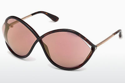 Zonnebril Tom Ford Liora (FT0528 52Z) - Bruin, Dark, Havana