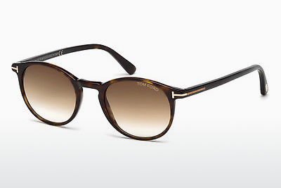 Zonnebril Tom Ford Andrea (FT0539 52F) - Bruin, Dark, Havana