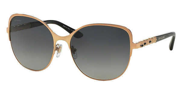 Bvlgari BV6078KB 395/T3 POLAR GREY GRADIENTPINK GOLD PLATED