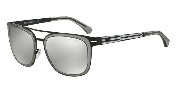 Emporio Armani EA2030 31066G LIGHT GREY MIRROR SILVERMATTE BLACK