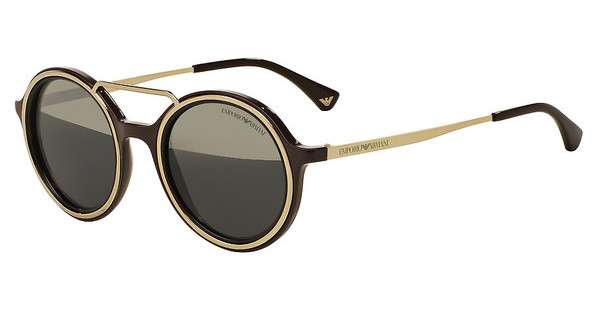 Emporio Armani EA4062 54631Z GREY MIRROR GOLDBROWN/PALE GOLD