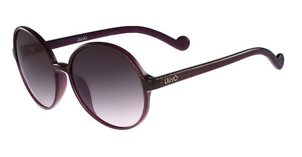 Liu Jo LJ633S 513 PURPLE W-GOLD GLITTER