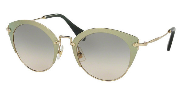 Miu Miu MU 53RS UR39T1 GREEN GRADIENTGREEN/PALE GOLD