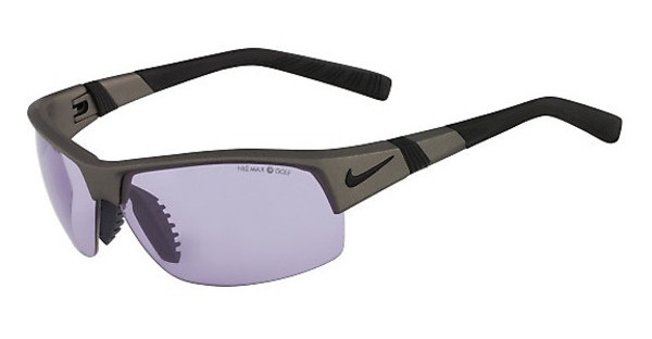 Nike SHOW X2 PH EV0672 006 METALLIC PEWTER WITH MAX TRANSITIONS GOLF TINT LENS LENS