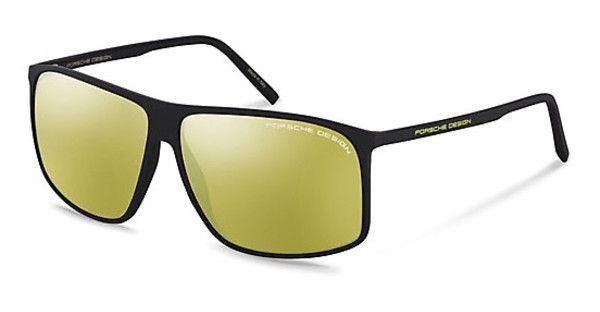 Porsche Design   P8594 A yellow, silver mirroredblack