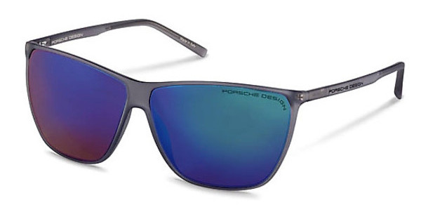 Porsche Design P8612 C green, blue mirroredgrey
