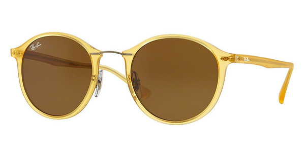 Ray-Ban RB4242 619973 BROWNMATTE YELLOW