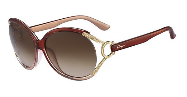 Salvatore Ferragamo SF600SR 619 RED/BEIGE GRADIENT