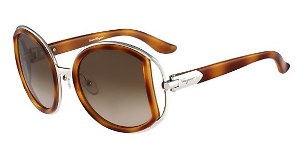 Salvatore Ferragamo SF719S 212 LIGHT TORTOISE