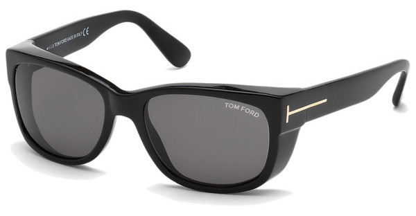 Tom Ford FT0441 01A grauschwarz glanz