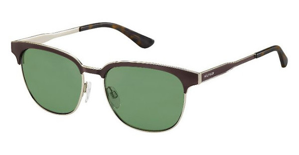 Tommy Hilfiger TH 1356/S K2H/DJ GREENGOLD BRWN (GREEN)