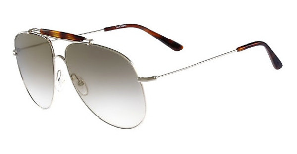 Valentino V119S 727 LIGHT GOLD-GREY GRADIENT FLASH