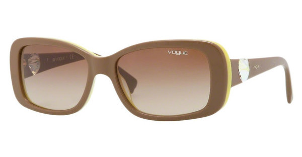 Vogue VO2791SB 206713 BROWN GRADIENTTOP LIGHT BRONW/YELLOW